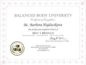 BBU certificate